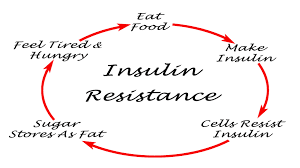 Does insulin resistance cause weight gain?